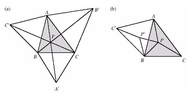 diàleg entre un professor de matemàtiques i un trangle equilàter
